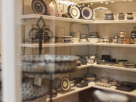 Polish pottery, a Cooking Gallery signature product,
