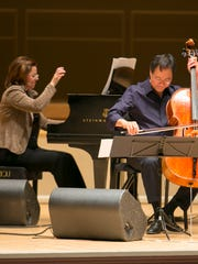 Yo-Yo Ma and Kathryn Stott perform Nov. 2 at the Flynn