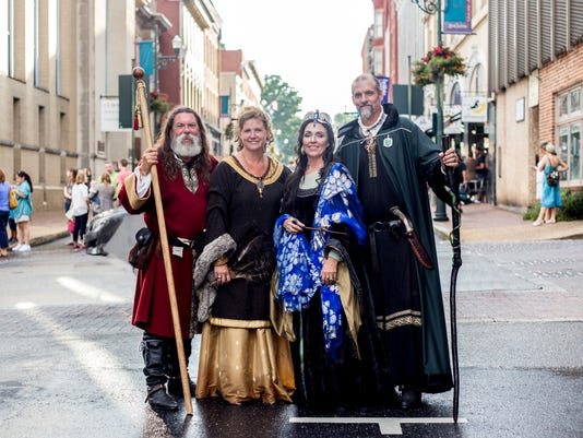 Harry Potter Quidditch and The Founders of Hogwarts Queen City Potter Party