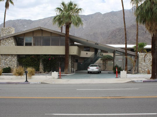 The Bahama Hotel on North Palm Canyon Drive in Palm Springs. The owner is deciding whether to sell or reopen the property.