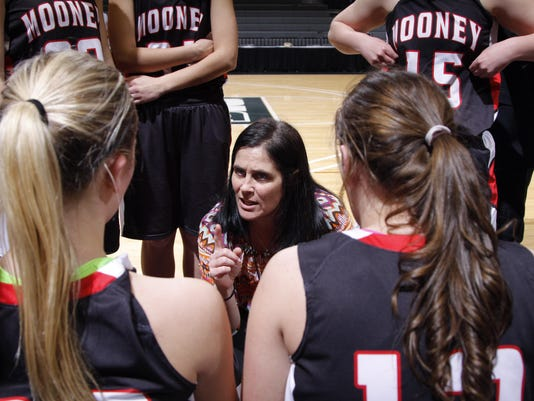 Marine City Cardinal Mooney Girls Basketball State Semifinal
