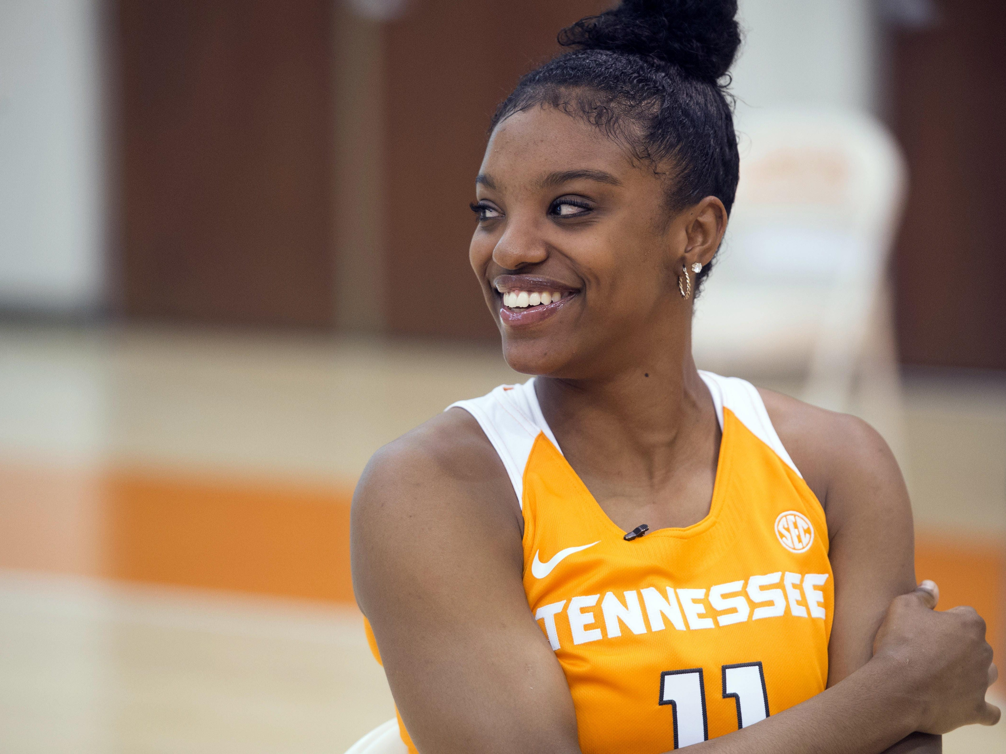 Tennessee expects to get a big boost from North Carolina transfer Diamond DeShields.