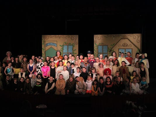 childrens theater cast