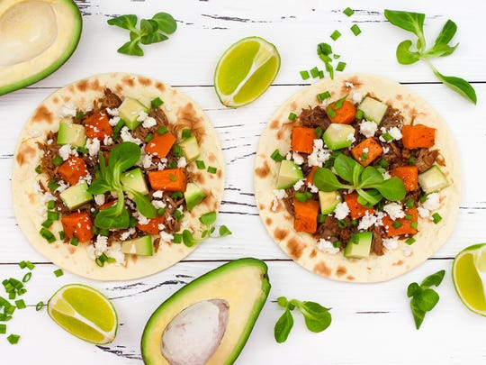 With so many possible combinations, tacos are also a terrific way to add seasonal vegetables into your meals.