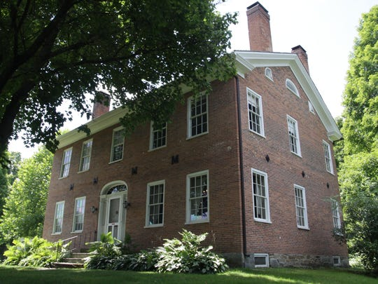 A view of the Noyes House Museum, home of the Morristown Historic Society, in Morrisville.
