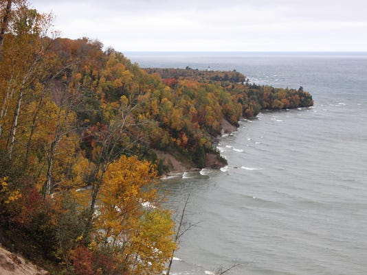 Not a candidate in sight (Au Sable Point in Upper Michigan)
