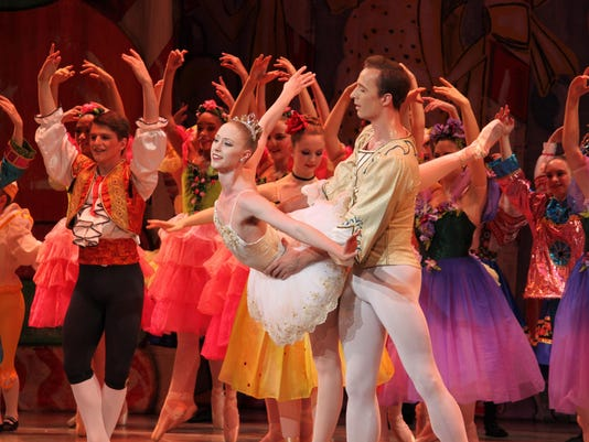 The Nutcracker at the Bardavon with New York City Ballet dancers Ask la Cour