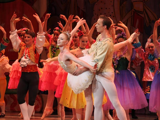 "New Paltz Ballet Theatre presents ""The Nutcracker"" at the Bardavon 1869 Opera House in Poughkeepsie."