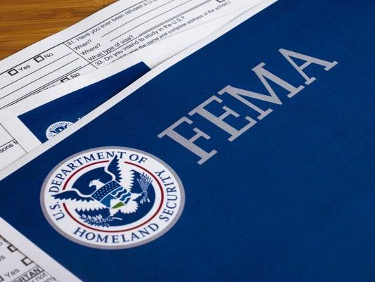 FEMA US Homeland Security Form
