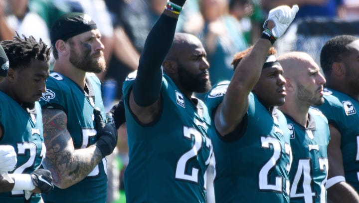 NFL halts new anthem rules, issue has fans on both sides irate