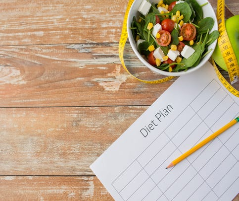 Diet plan and healthy food