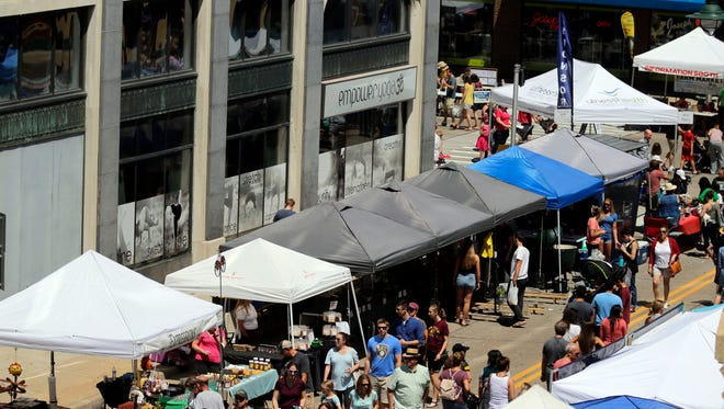 Downtown Appleton Farm Market will look different this year with fewer booths and social distancing.