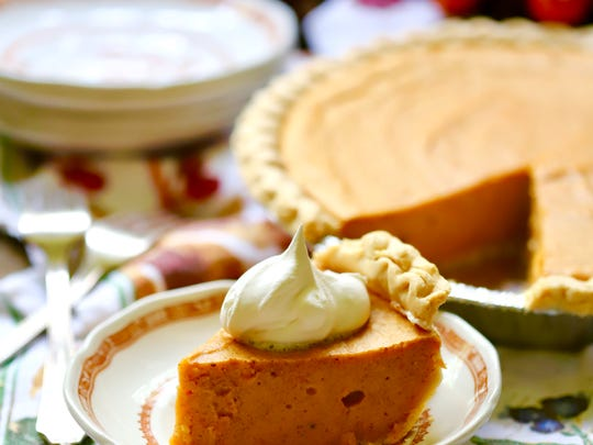 Southern Sweet Potato Pie  can be made several days