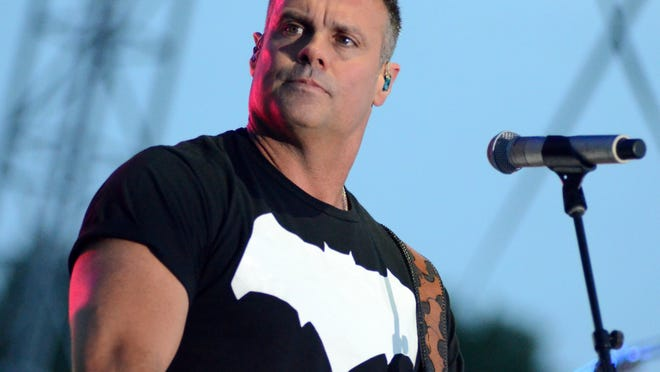 Guitarist Troy Gentry of the band Montgomery Gentry performs during the Country USA Music Festival on June 14, 2016, in Oshkosh, Wisc. (Ricky Bassman/Zuma Press/TNS)