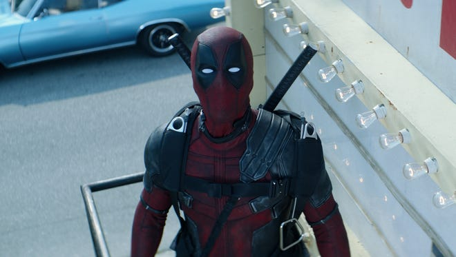 "Ryan Reynolds stars as Deadpool in ""Deadpool 2."""