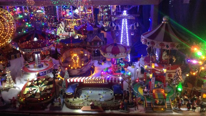 Lee and Patricia Sepanek, who have decorated their Arcadia home with 250,000 Christmas lights for 30 years, didn't put up a display in 2017, but they plan to decorate again this year.