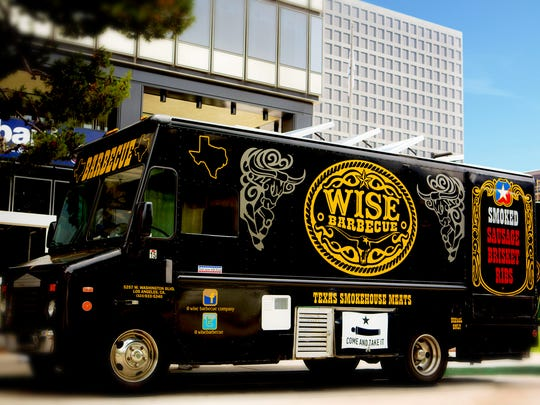 The Wise Barbecue Food Truck will participate in the Food Truck Mash-Up in Palm Springs.