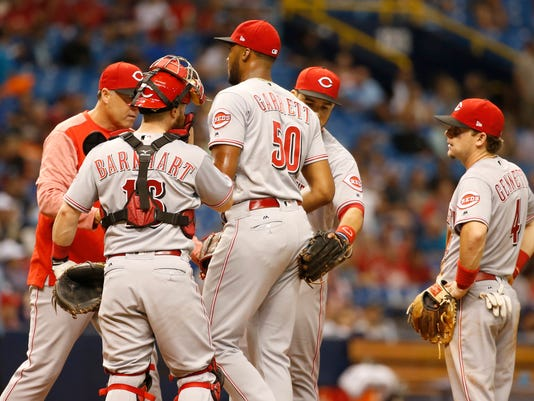 MLB: Cincinnati Reds at Tampa Bay Rays