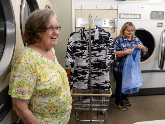 Washerette Vivian Presher retires after 52 years