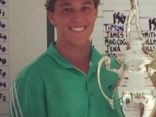 Moeller's Jake Fox won the Ohio Junior Golf tournament at Lancaster Country Club at the end of June.