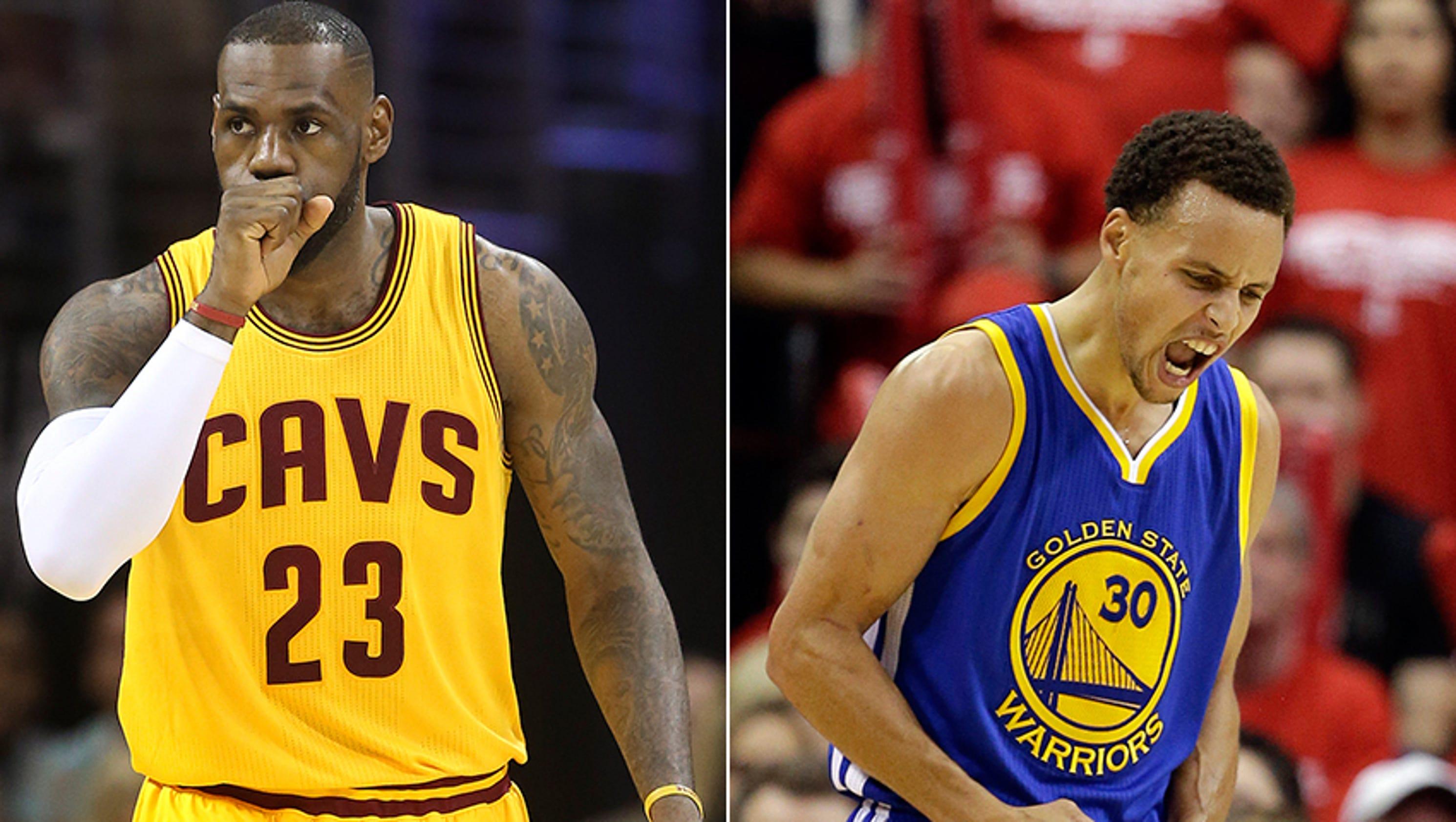 LeBron vs. Curry best since Magic vs. Bird?