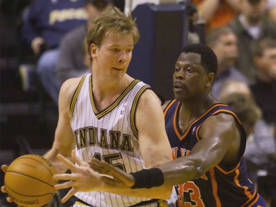 No. 7: Rik Smits came to the Pacers with the No. 2