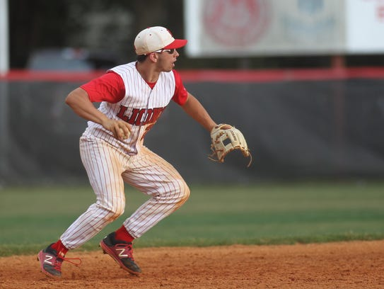 Leon sophomore Tyler Borges is holding down shortstop,