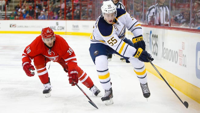 In 19 games with the Sabres, rookie defenseman Rasmus Ristolainen scored one goal.