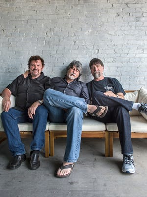 "The band Alabama — Jeff Cook, left, Randy Owen and Teddy Gentry — released ""Southern Drawl"" on Friday. It's the band's first album of original material in 14 years."