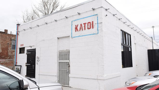The Katoi on Michigan Avenue in Detroit, shown in 2016, was ravaged Friday by a fire that appears to have been set during a break-in.