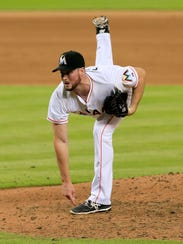 Carter Capps was expected to contend for the closer's