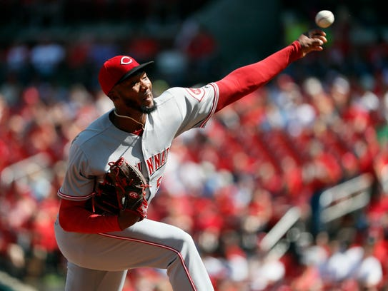 Amir Garrett was 3-2 with a 4.25 ERA after six starts last year before he was optioned to Triple-A. He was 0-6 with a 10.64 ERA over his eight starts after returning to the majors.