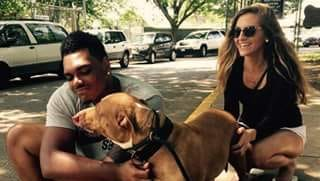 Former Notre Dame and current Ravens player Ronnie Stanley adopted Winter from BARCS.
