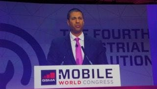 Ajit Pai at Mobile World Congress