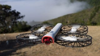 A Snap drone from Vantage Robotics. The Federal Aviation Administration granted a waiver for CNN to fly this type of drone over crowds for its newsgathering, the cable network announced Oct. 18, 2017.