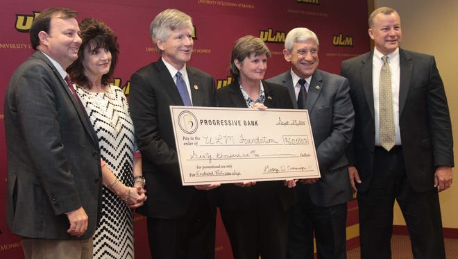 Professorship in the Financial and Information Technology Services. The gift enables ULM to receive an additional $40,000 from the Louisiana Board of Regents. The professorship will help in the recruitment of new faculty and the retention of faculty whose research, teaching and public service have contributed to the missions of their departments.