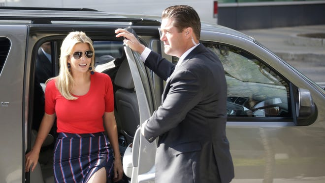 Ivanka Trump will be joined by local business leaders to talk about STEM education on Tuesday Sep. 26, 2017 at Detroit Design 139 in Detroit.