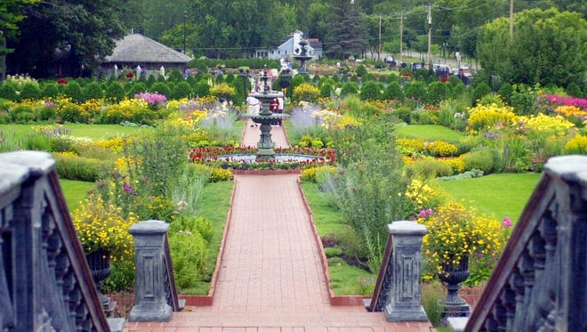 This view shows the variety and scale of Clemens Gardens.