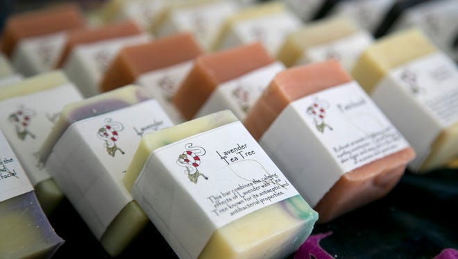 Patricia Sweeney's passion is making soap using natural ingredients and essential oils.