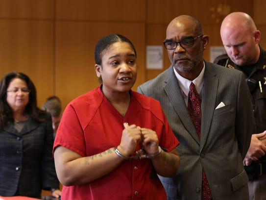 Mitchelle Blair sought to plead guilty Friday, June