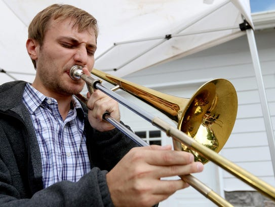 Matt Hettwer won the International Trombone Festival's