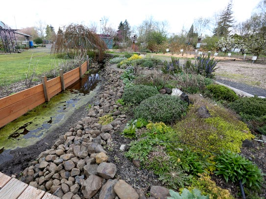 The Marion Demonstration Garden is free and open to the public.