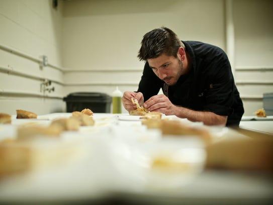 Vertical Detroit chef Alex Knezevic readies the third