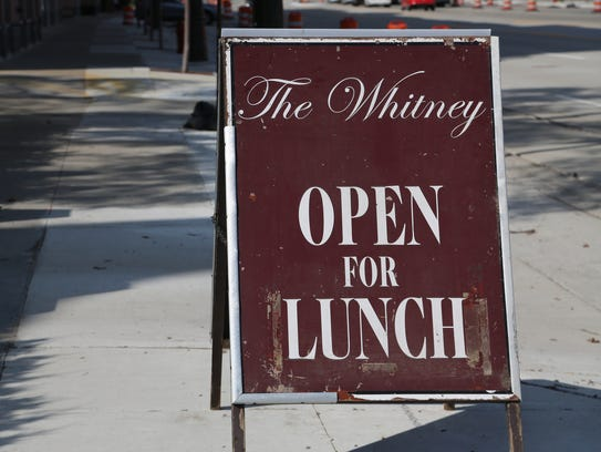 The Whitney restaurant in Detroit recently began serving