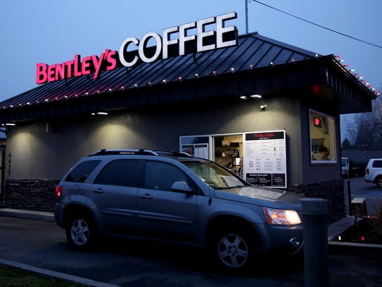 Bentley's Coffee in Keizer on Thursday, Dec. 21, 2017.