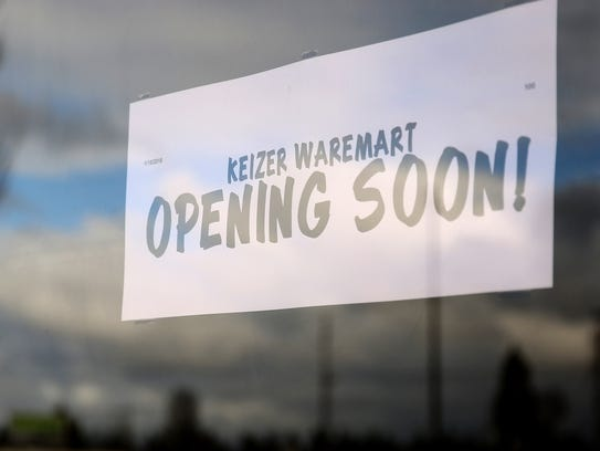 Waremart by Winco is scheduled to open Feb. 1. Photographed