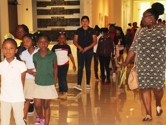Many of the Gifford Youth Achievement Center students