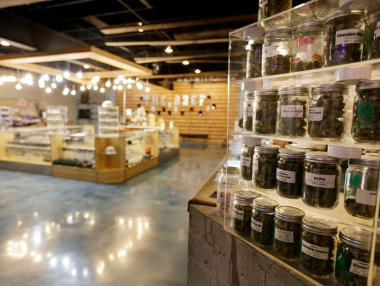 The Reef, a medical marijuana dispensary in Detroit,