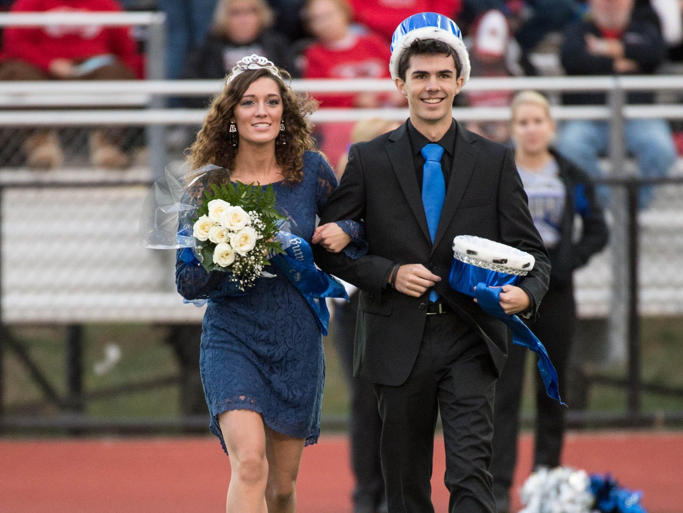 Last year home comming King and Queen.