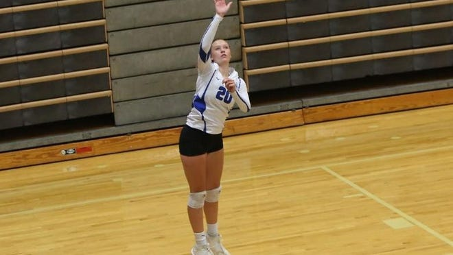Oconee County's Grace Wenrich posted 62 assists, 24 digs, 10 kills and 27 service points for the Warriors last week.